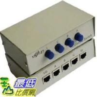 _a 玉山最低 網手動式SHARE SWITCH 4 對1 線RJ45 共用切換器2032