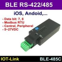 IOT Link BLE RS 485 RS485 傳輸器Modbus RTU iOS A