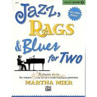 Kaiyi Music ♫Kaiyi Music♫Jazz rags  blues for two Duet book 3
