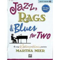 Kaiyi Music ♫Kaiyi Music♫Jazz rags  blues for two Duet book 2
